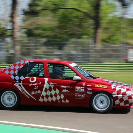 """Motor Legend Festival 2018, Imola: Renato Benusiglio with a 155 group """"N"""". Photo by Massimo Campi."""